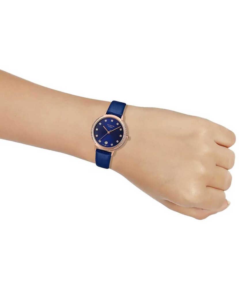 Casio Sheen SHE-4056PGL-2AUDF Swarovski Taşlı Kadın Kol Saati