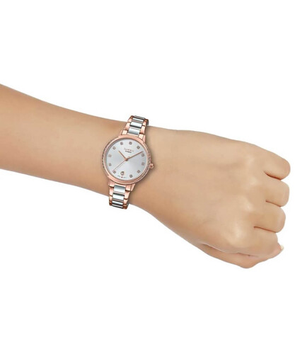 Casio Sheen SHE-4056SPG-7AUDF Swarovski Taşlı Kadın Kol Saati - Thumbnail