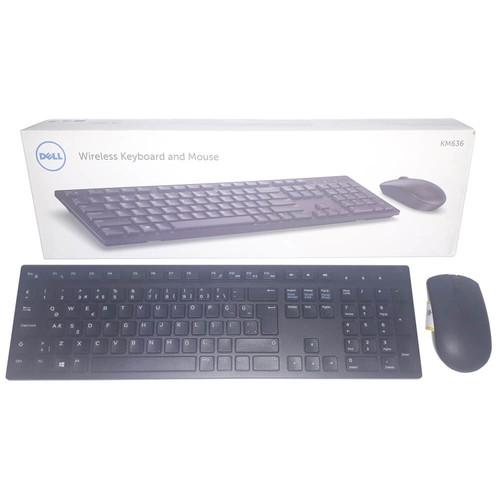 Dell KM636 580-ADGJ Kablosuz Q Türkçe Klavye Mouse Seti - Thumbnail
