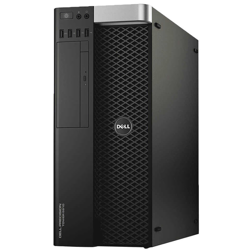 DELL Precision T5810 E5-1620 v3 8GB RAM 2x4TB HDD Windows 7.1/8