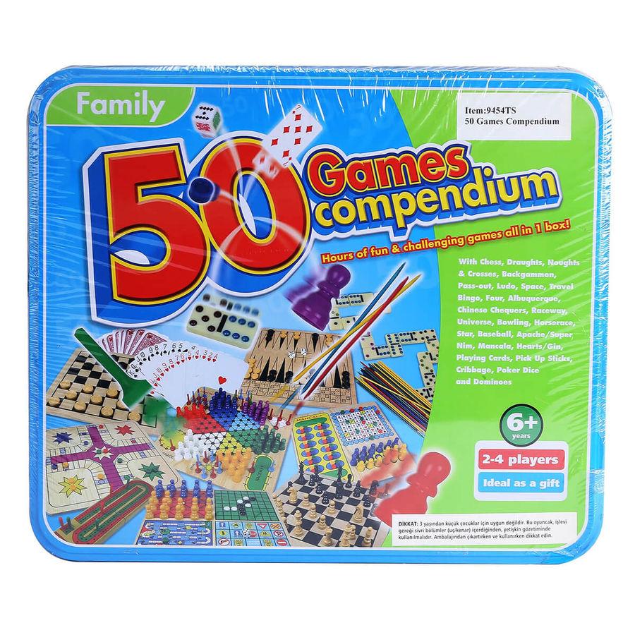 Family - Family 50 Games Compendium 50 Oyunluk Kutu Set
