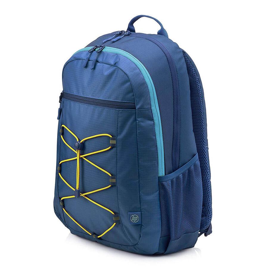 HP - HP Active Backpack 15.6 inç Mavi-Sarı Laptop Sırt Çantası 1LU24AA