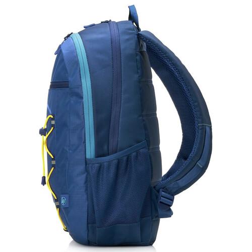 HP Active Backpack 15.6 inç Mavi-Sarı Laptop Sırt Çantası 1LU24AA - Thumbnail