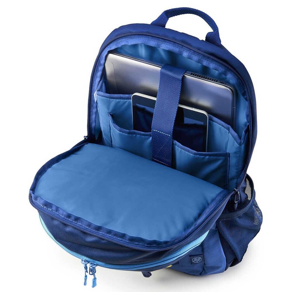 HP Active Backpack 15.6 inç Mavi-Sarı Laptop Sırt Çantası 1LU24AA
