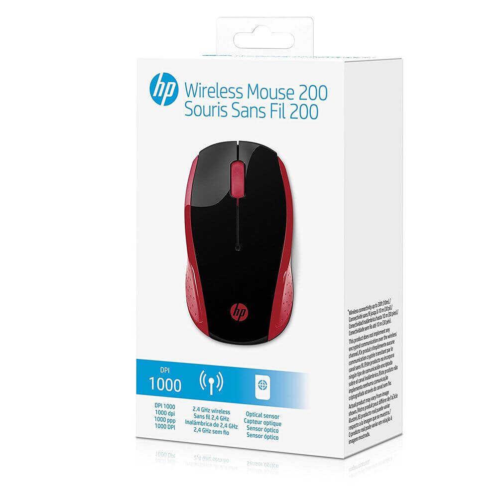 HP 2HU82AA Wireless Kablosuz Empress Kırmızı Mouse