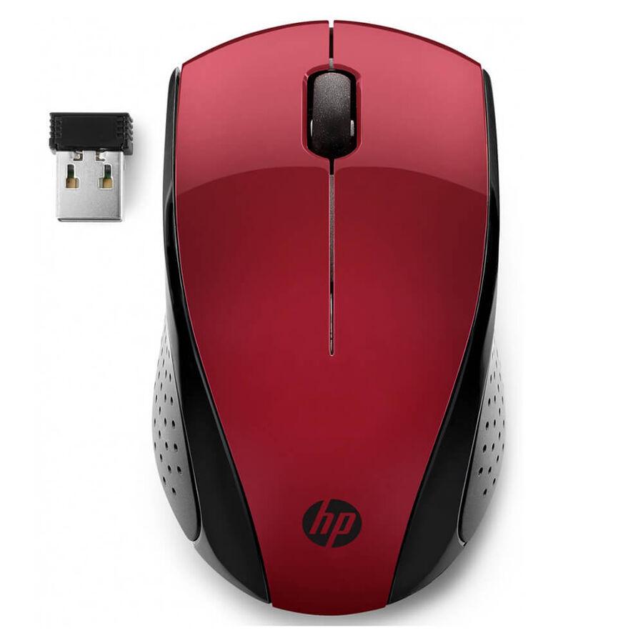 HP - HP 220 Wireless Kablosuz Kırmızı Mouse 7KX10AA