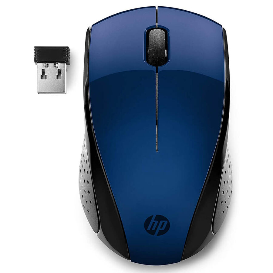 HP - HP 220 Wireless Kablosuz Mavi Mouse 7KX11AA