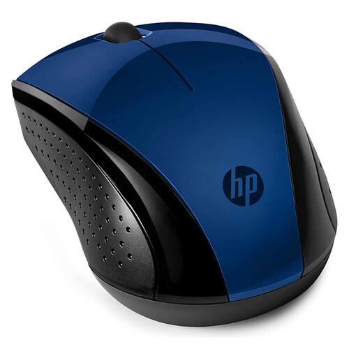 HP 220 Wireless Kablosuz Mavi Mouse 7KX11AA - Thumbnail