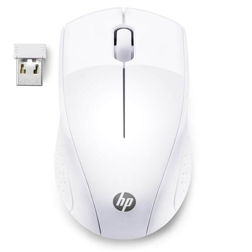 HP 220 Wireless Kablosuz Beyaz Mouse (7KX12AA) - Thumbnail