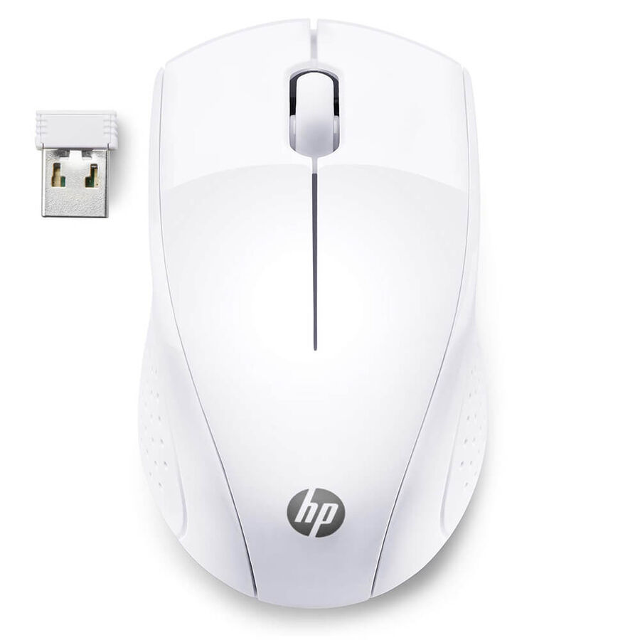 HP - HP 220 Wireless Kablosuz Beyaz Mouse (7KX12AA)