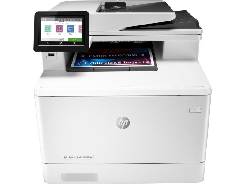 HP - HP LaserJet Pro M479fdw Yaz-Tar-Fot-Fax-(W1A80A)