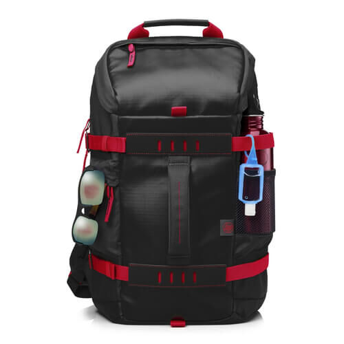 "HP - HP Odyssey Notebook Sırt Çantası Kırmızı - Siyah 15.6"" X0R83AA"