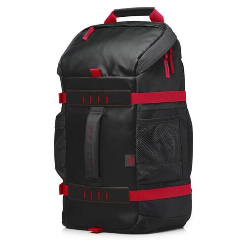 "HP Odyssey Notebook Sırt Çantası Kırmızı - Siyah 15.6"" X0R83AA - Thumbnail"