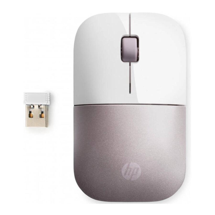 HP - HP Z3700 Wireless Kablosuz Beyaz/Pembe Mouse 4VY82AA