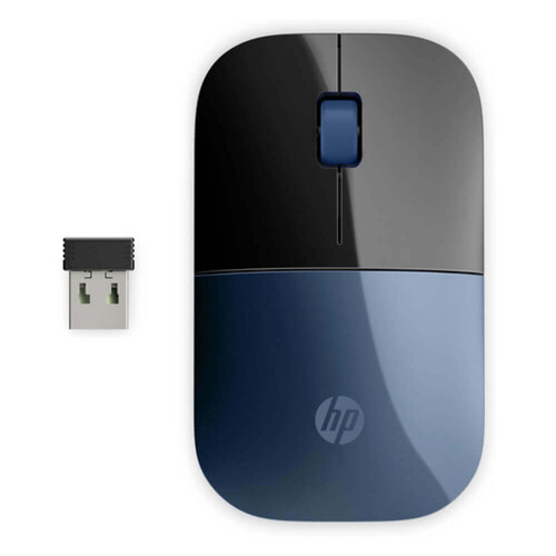 HP Z3700 Wireless Kablosuz Siyah Mavi Mouse 7UH88AA - Thumbnail