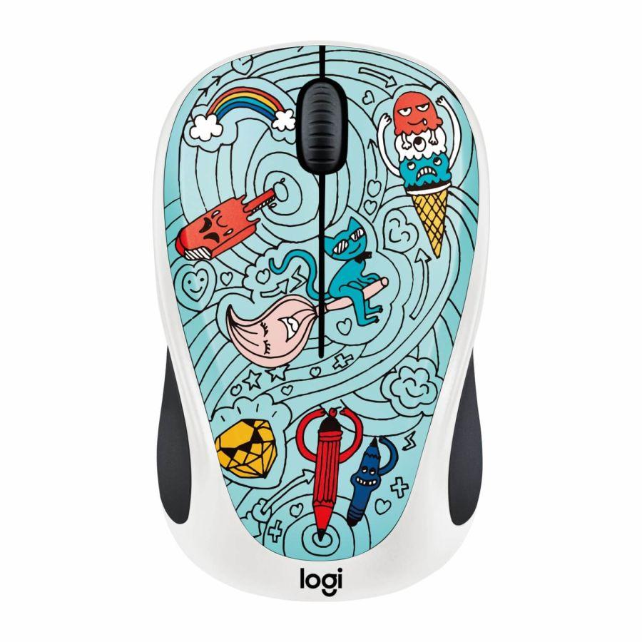 LOGITECH - Logitech M238 Doodle Collection 910-005055 USB Kablosuz Mouse