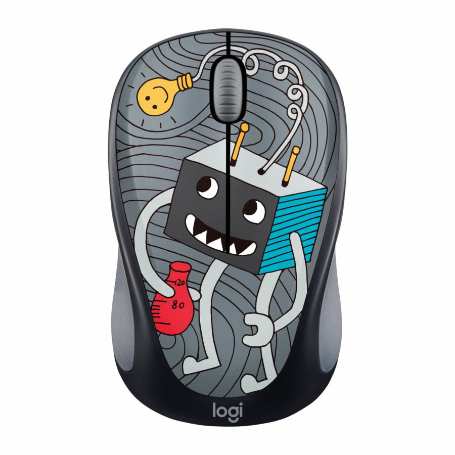 LOGITECH - Logitech M238 Lightbulb 910-005049 Doodle Collection Kablosuz Mouse