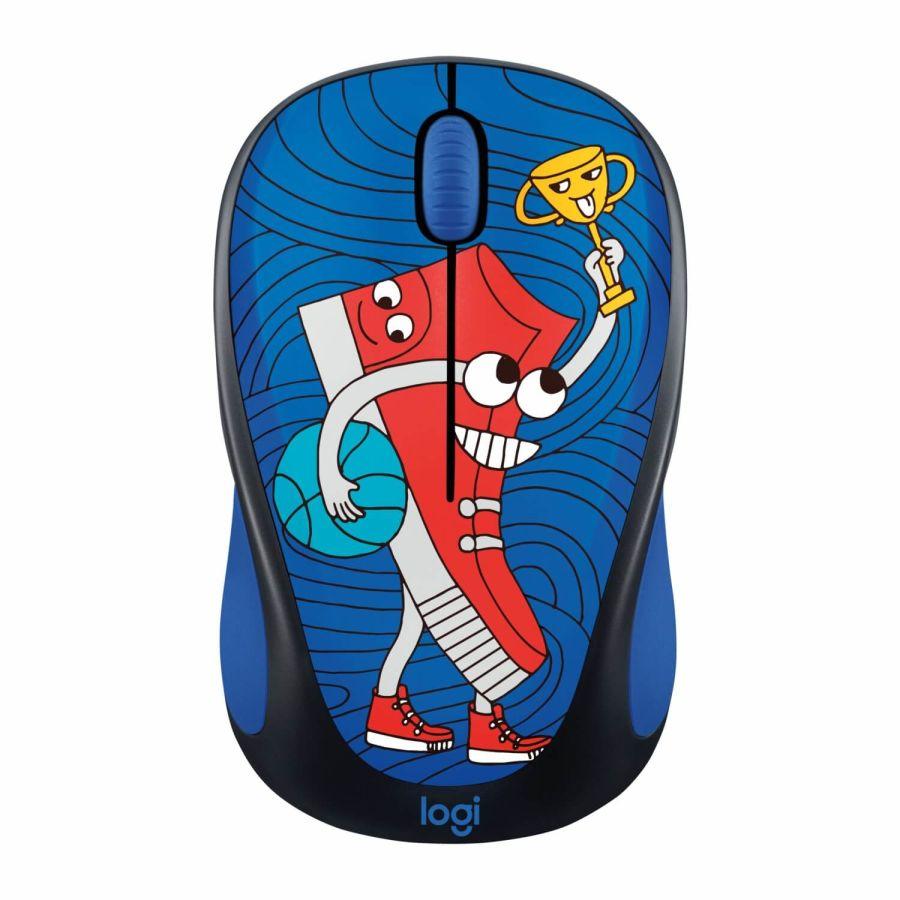 LOGITECH - Logitech M238 Sneaker Head Doodle Collection 910-005050 USB Kablosuz Mouse