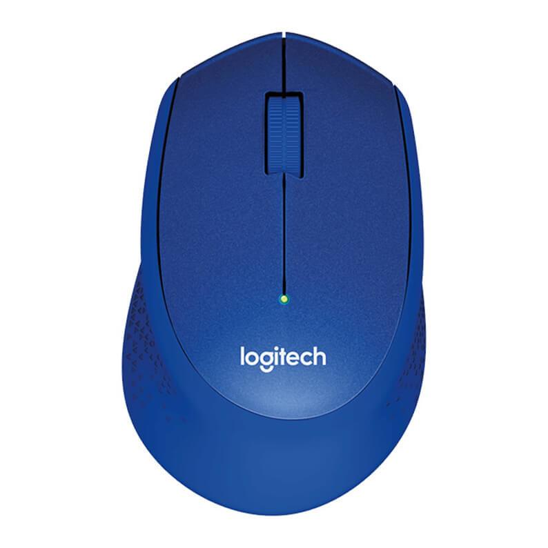 LOGITECH - Logitech M330 Silent Kablosuz Mavi Mouse 910-004910