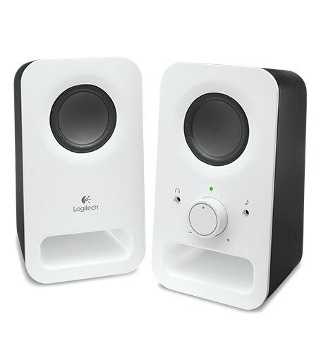 Logitech - Logitech Z150 1+1 6W Hoparlör Beyaz 980-000815