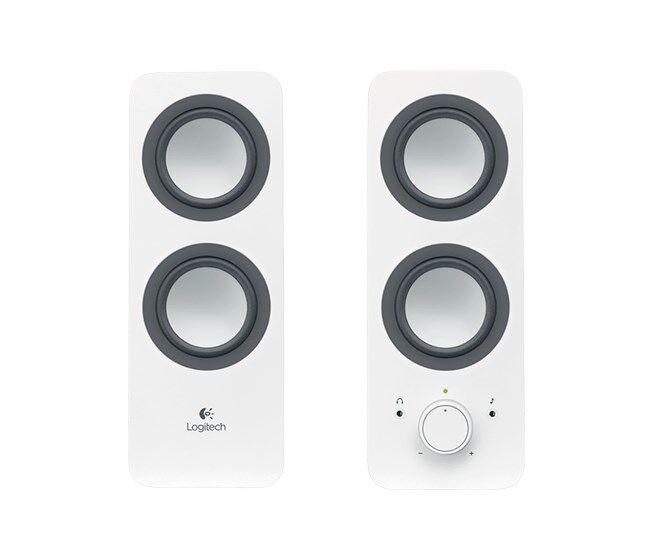 Logitech - Logitech Z200 1+1 Hoparlör Beyaz 980-000811