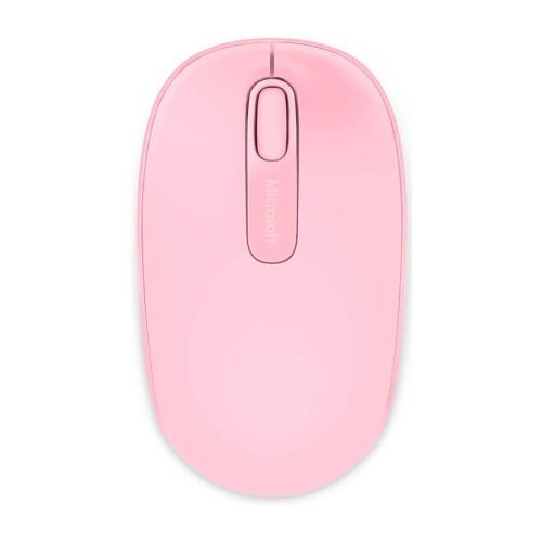 Microsoft 1850 U7Z-00023 Mac/Win Toz Pembe Wireless Mobile USB Mouse - Thumbnail