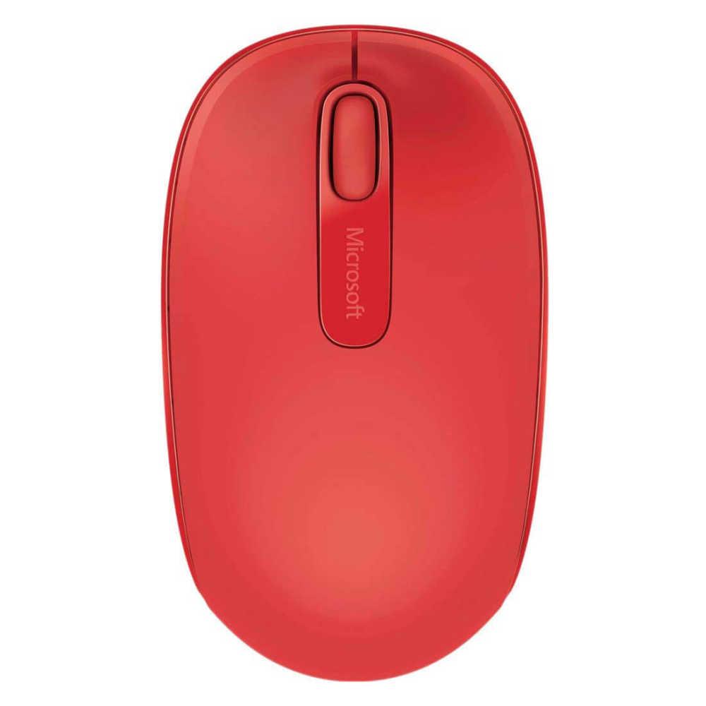 Microsoft 1850 U7Z-00033 Mac/Win Kırmızı Wireless Mobile USB Mouse