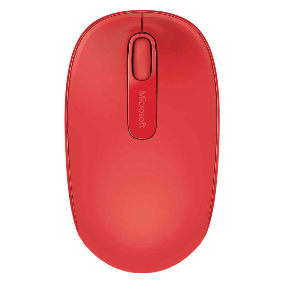 MICROSOFT - Microsoft 1850 U7Z-00033 Mac/Win Kırmızı Wireless Mobile USB Mouse