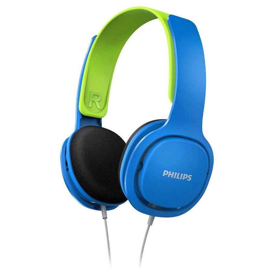 PHILIPS - Philips SHK2000BL Kids On-Ear Mavi Yeşil Kablolu Kulaküstü Çocuk Kulaklığı