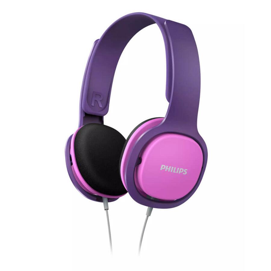 PHILIPS - Philips SHK2000PK Kids On-Ear Pembe Mor Kablolu Kulaküstü Çocuk Kulaklığı