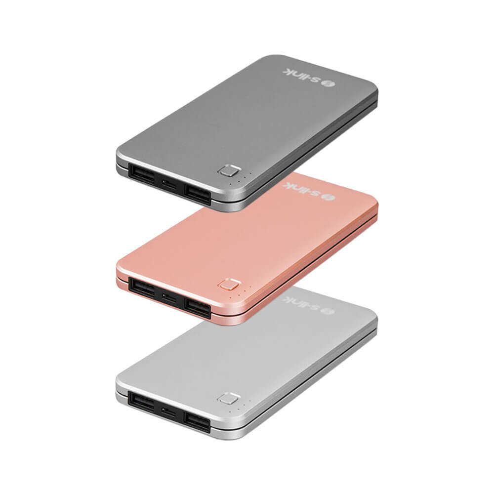 S-Link IP-G17 10000 mAh Powerbank Taşınabilir Şarj Cihazı Rose Gold IP-G17-RG
