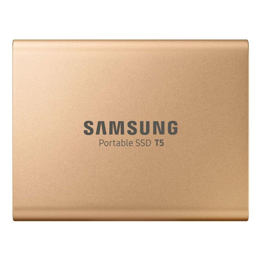 SAMSUNG - Samsung 500GB T5 USB3.1 540MB/s MU-PA500GWW Taşınabilir SSD Disk