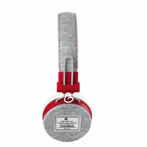 Trust 20073 Fyber Gri - Kırmızı Katlanabilir Mikrofonlu Kulaküstü Kulaklık - Thumbnail