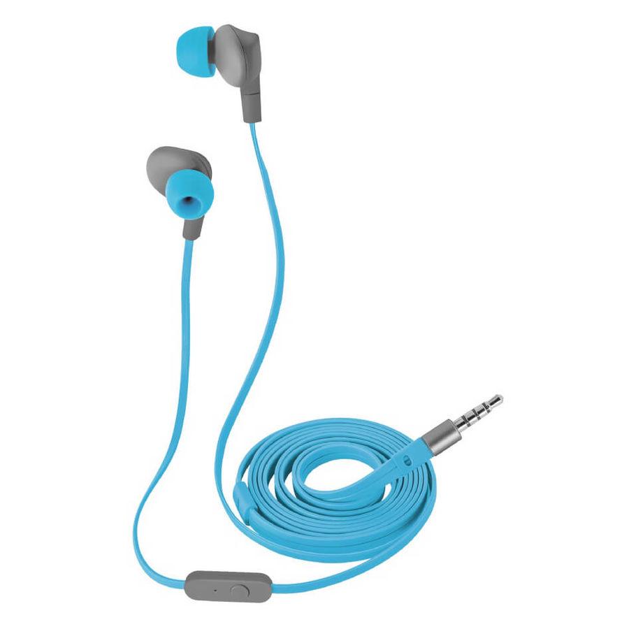TRUST - Trust 20837 Aurus Mavi Su Geçirmez Mikrofonlu Kulakiçi Kulaklık