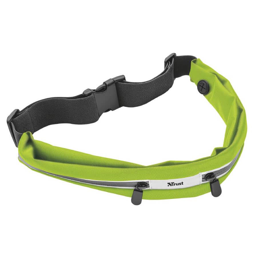 TRUST - Trust 20876 Akıllı Telefonlar İçin Yeşil Spor Bel Kemeri