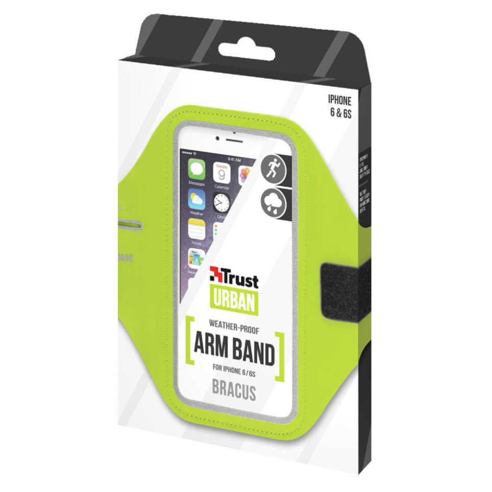 Trust 20886 iPhone 6/6S İçin Yeşil Pazu Bandı