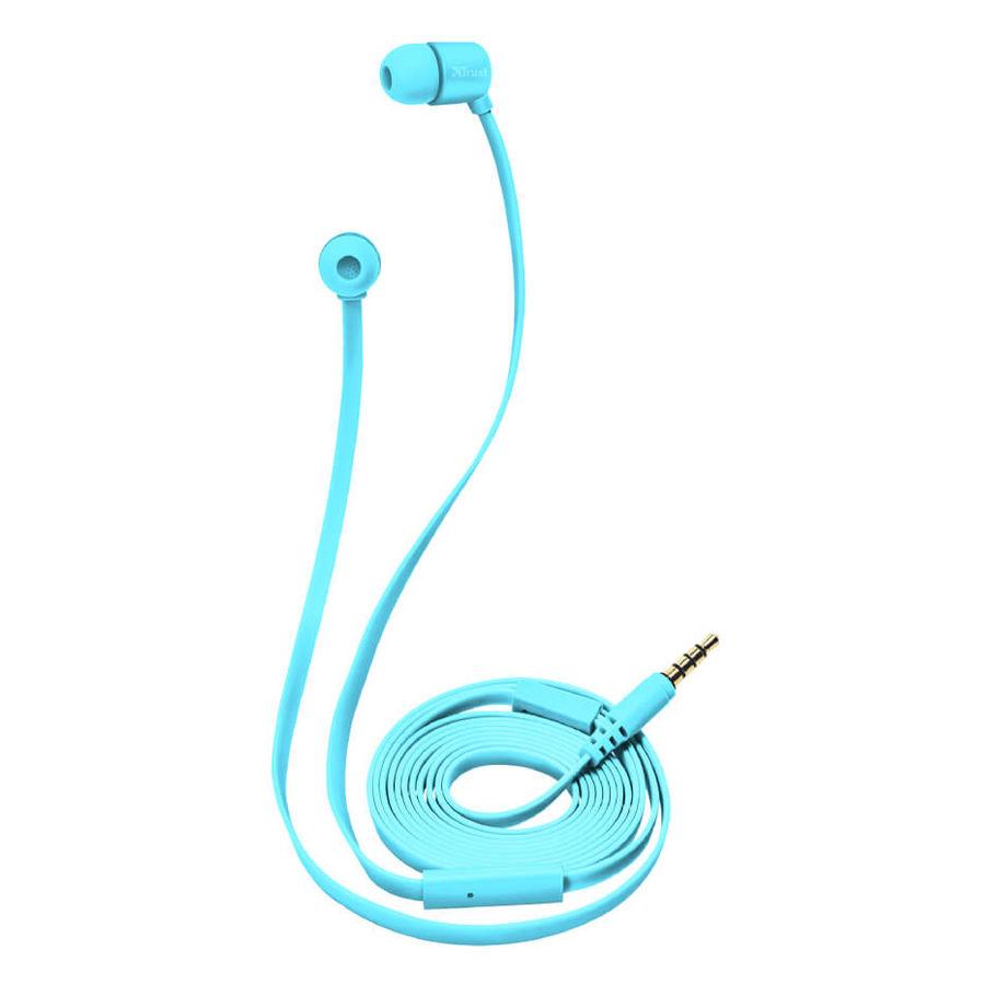 TRUST - Trust 22107 Duga Neon Mavi Mikrofonlu Kulakiçi Kulaklık