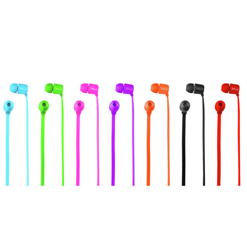 Trust 22108 Duga Neon Yeşil Mikrofonlu Kulakiçi Kulaklık - Thumbnail