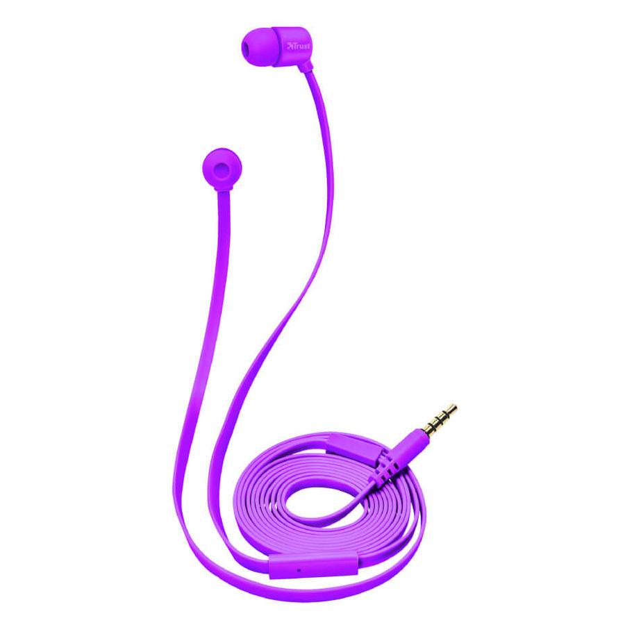 TRUST - Trust 22110 Duga Neon Mor Mikrofonlu Kulakiçi Kulaklık