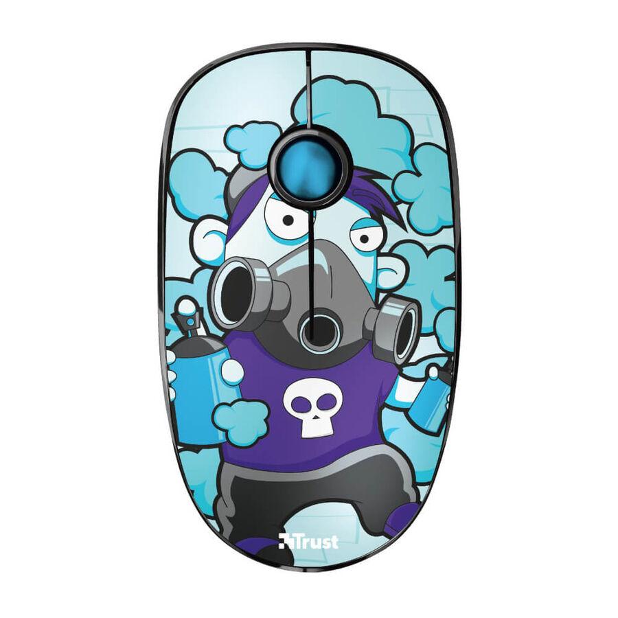 TRUST - Trust 23335 Sketch Sessiz Kablosuz Mavi Mouse