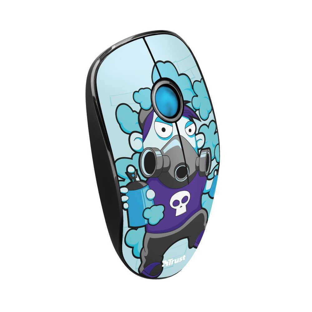 Trust 23335 Sketch Sessiz Kablosuz Mavi Mouse
