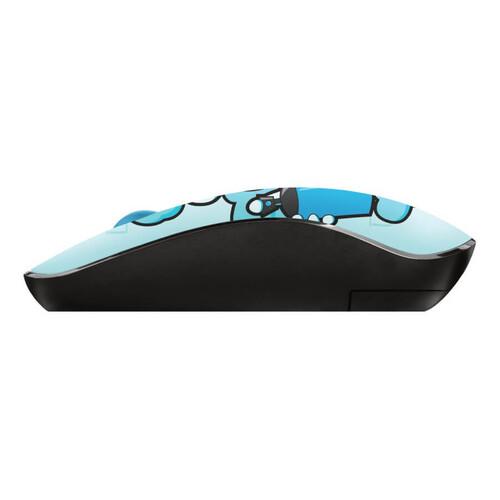 Trust 23335 Sketch Sessiz Kablosuz Mavi Mouse - Thumbnail