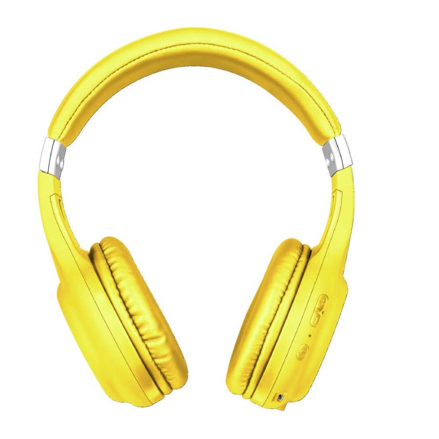 TRUST - Trust Dura 22767 Sarı Mikrofonlu Kablosuz Bluetooth Kulaklık