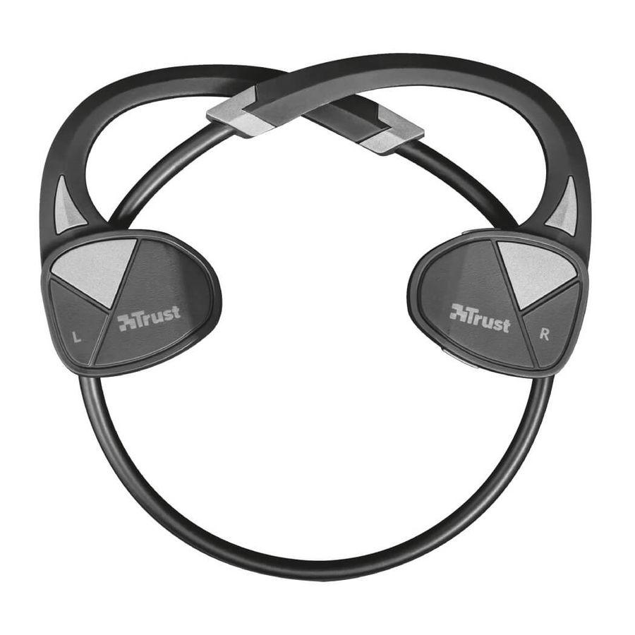 TRUST - Trust 22501 Velo Boyun Bandı Tarzında Bluetooth Kablosuz Kulakiçi Spor Kulaklık