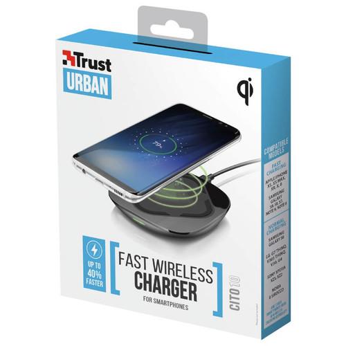 Trust 22894 Cito10 Akıllı Telefon İçin Kablosuz Hızlı Şarj Cihazı - Thumbnail