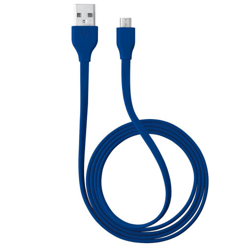 Trust 20136 Micro USB 1m Universal Mavi Şarj Kablosu - Thumbnail