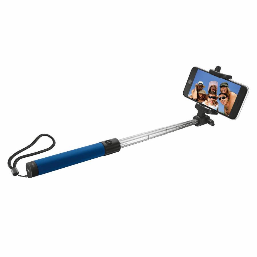 TRUST - Trust Urban 21036 Katlanabilir Kablosuz Bluetooth Mavi Selfie Çubuğu