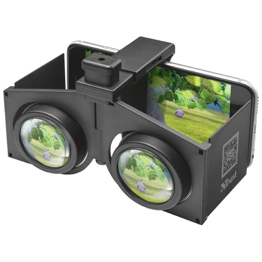 TRUST - Trust 21562 Pixi Akıllı Telefonlara Yönelik Katlanabilir 3D Sanal Gerçeklik (VR) Gözlüğü